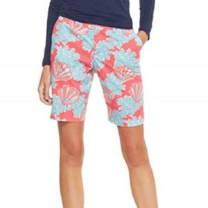 Lilly Pulitzer Avenue Bermuda Shorts 6 Watermelon